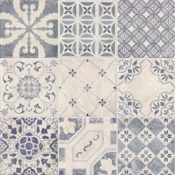 Azulejo MILANO DECOR CENTURY BLUE de MAINZU